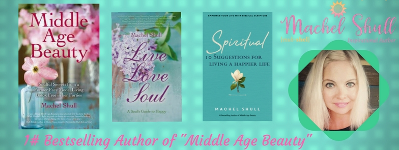 Inspirational books- Machel Shull. Books to motivate you to find more joy, self-love and happiness.