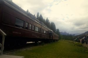 Dr. Zhivago Train- in Lake Louise. My trip to Canada with my my mother-n-law, Katie Shull.
